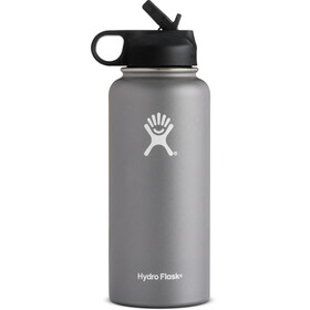 Hydro Flask Wide Mouth Straw Bottle 32oz (946ml) Graphite